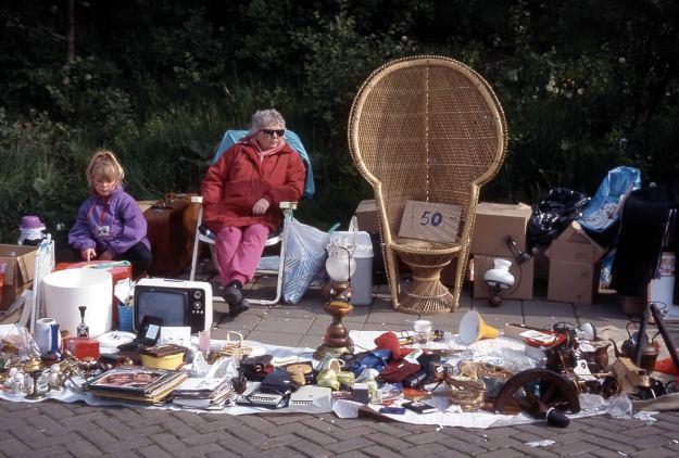 Photo of street sale